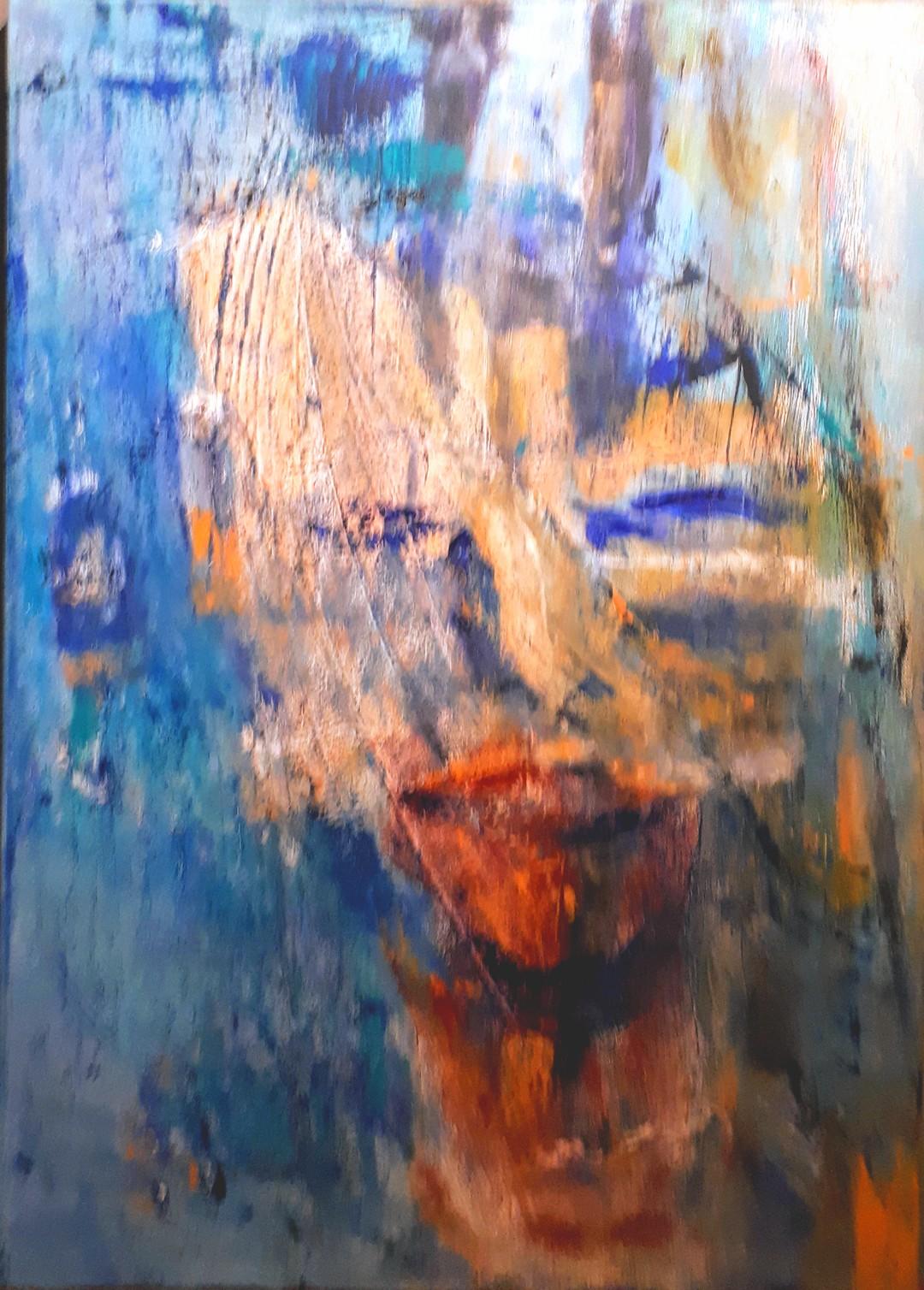 abstraktes Konterfei