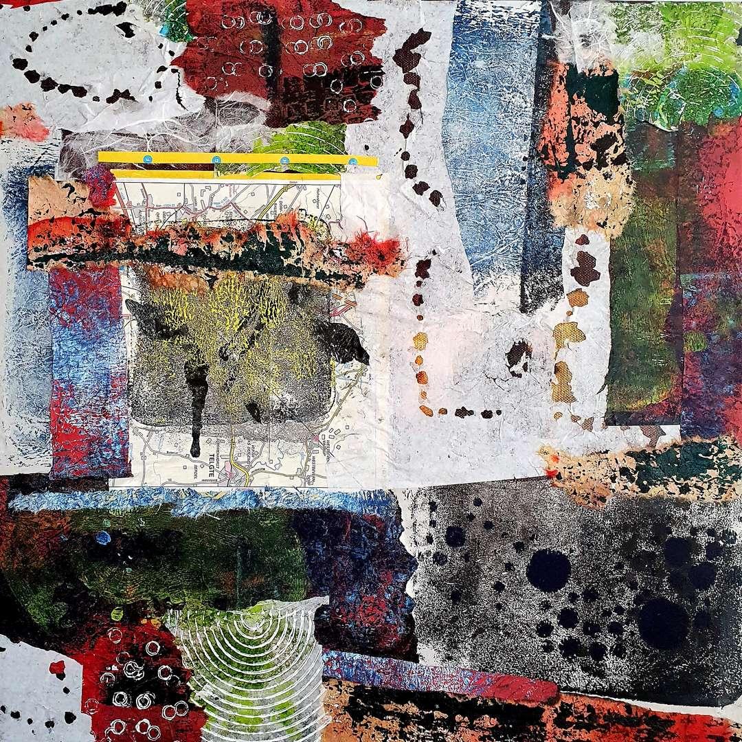 Papier-Collage