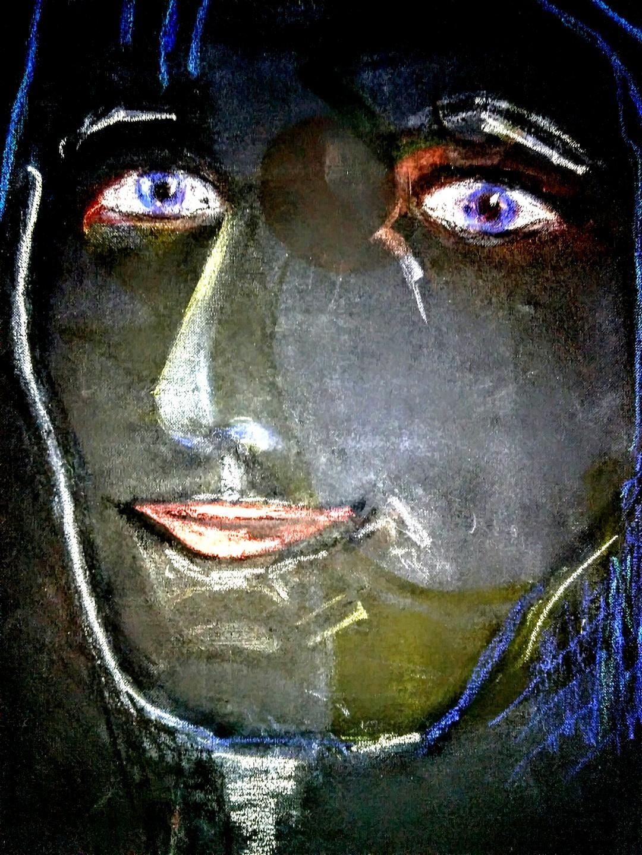 Porträt dunkel
